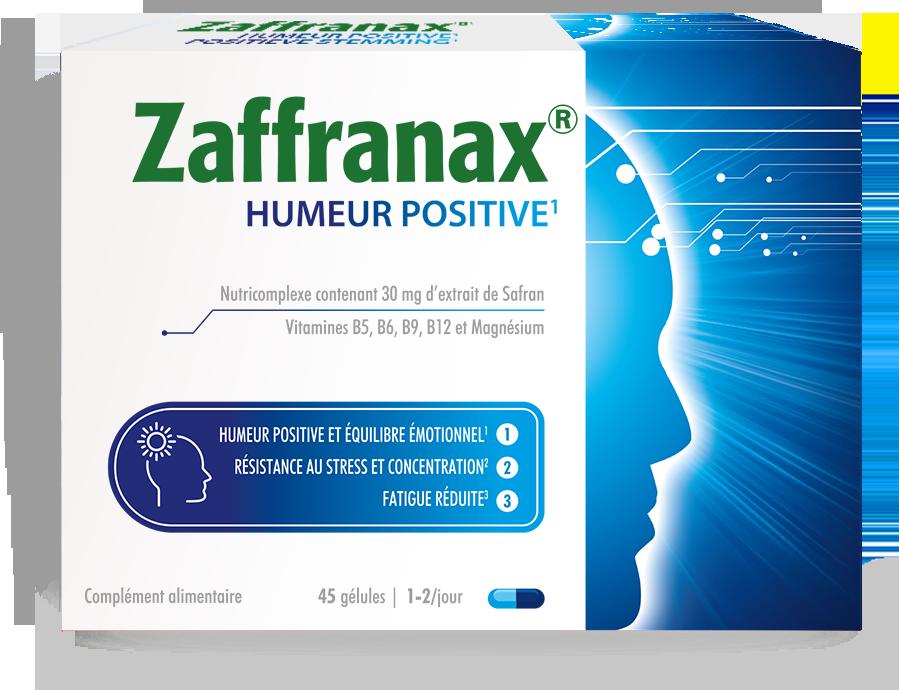 Zaffranax® pour une humeur positive1