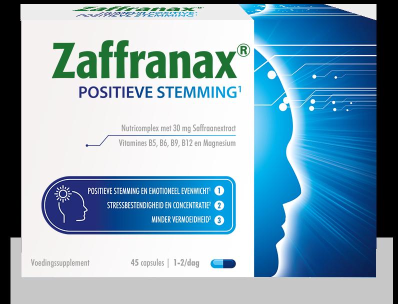 Zaffranax® voor een positieve stemming1